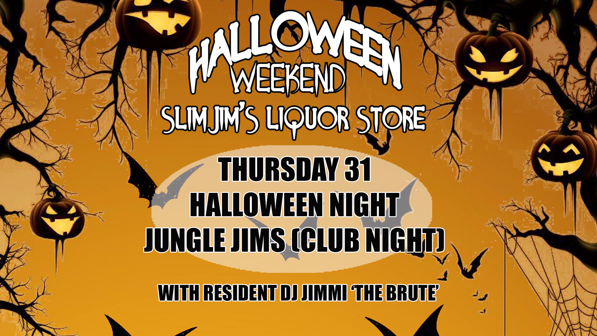 Halloween Night Jungle Jims
